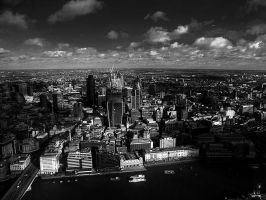 View From The Shard - II by InayatShah