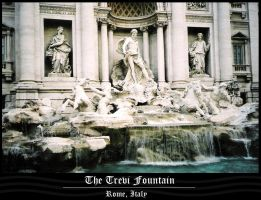 The Trevi Fountain by thatcraftychick
