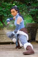 Korra Strikes by stillreflection