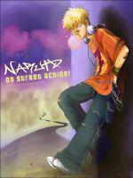 Naruto on the Street by sorceressmyr