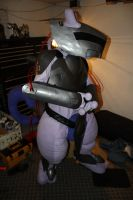 Mewtwo Armor Fitting 6 by masterdito