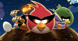 angry birds space logo by dragongirl200021