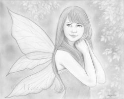 Summer Fairy - sketch by MayumiOgihara