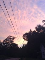 Sunset in Manchester GA by ChibiMisfit