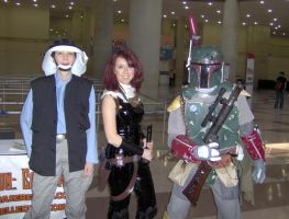 ComicCon 10 - StarWars - Trio by What-the-Gaff