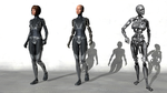 Fan-Film Character Concepts - Cybernetic by Sentinalysis
