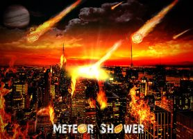 Meteor Shower by Oceandeep76