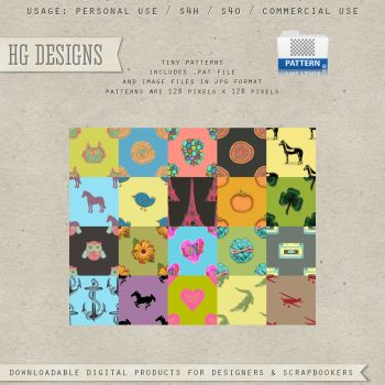 Tiny Patterns by HGGraphicDesigns