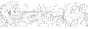 Lycan dese Beats Banner Pencils by FritzyBeat