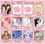 2012 Summary Of Art by Mel-Rosey