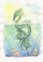 Sea Dragon by LarimarDragon