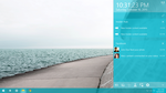 CONCEPT: Windows 10: Combined Time + Action Center by m-reineru
