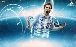Gonzalo Higuain - Argentina by Rageport