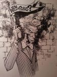 Joker Commission Finch and Friend by Blasterkid