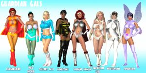 Guardian Gals by finister