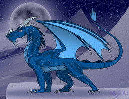 Dragon Study (Final) by Xain-Russell