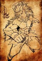Son Goku Super Saiyan Lv 3 by Clearmirror-StillH2O