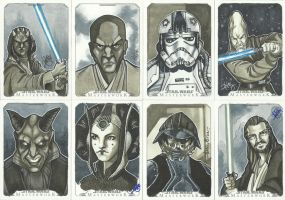 Topps Star Wars Masterwork Sketch Cards 4 by WISHKER