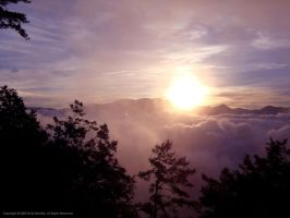 Alishan Sunrise by Skarlet-Raven