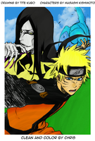 Naruto by Tite Kubo Color by Chris-Strife
