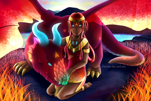 That Dragon Within Me by Chiichen