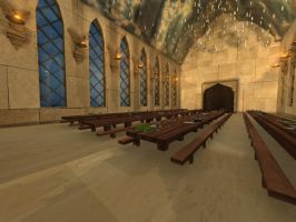Hogwarts - The Great Hall by CosmicalFox