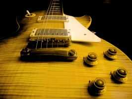 Gibson Les Paul Yellow I by Vianto