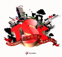 Telkomsel School Community by Foxcun
