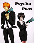 Psycho Pass Crossover by Pamianime