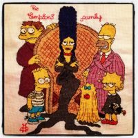 The Simpsons family by BellaLo
