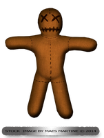 Voodoo Doll png by M10tje