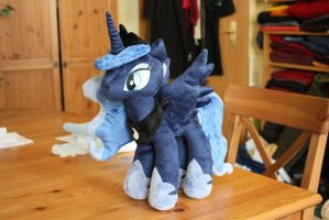 Princess Luna Plushie by Siora86