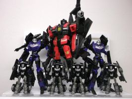 Skyjack and his Vehicons by forever-at-peace