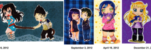 Chibi of 2012 by nanako87