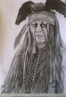 Tonto - The Lone Ranger by cheekygirl-1997
