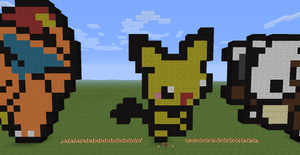 Minecraft Pichu party icon! by Tigereagle