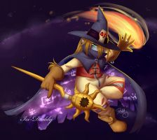 Wizardmon - It's a kind of magic by Isi-Daddy