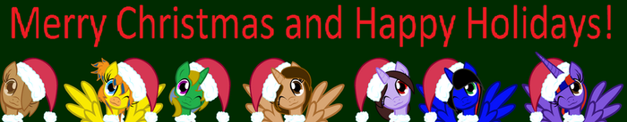 Merry Christmas and Happy Holidays by Queen-of-Fate