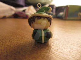 Happy Little Elf Charm by tessasglory