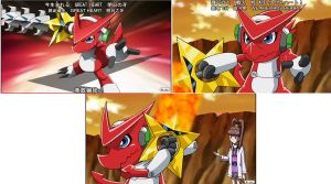 Shoutmon Star blade by Rangertamer