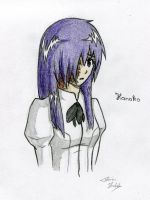Try to draw Hanako by Furin94