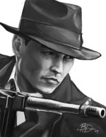 Johnny Depp - Public Enemies by imDRUNKonTEA