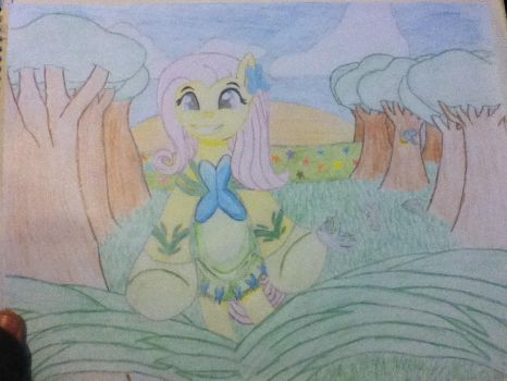 Spring is here, and so is Fluttershy by princetazer