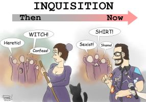 Inquisition: Then and Now by pommegenozide