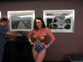Fetish Con 2014: Christina Carter as Wonder Woman by CarlShepard