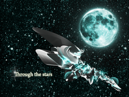 Through the stars by Unknown-T