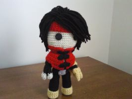 Vincent Valentine of Final Fantasy Sackboy by Sackboyncostume