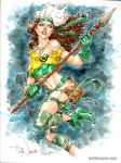 Savage Land Rogue by ToddNauck