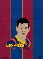 Leo Messi Cartoon by SemihAydogdu