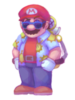 SMS - 128 Mario Collab by Lollergator